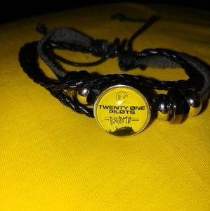 21 Twenty One Pilots Bandito Tour Trench Bracelet